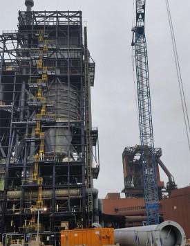 industrial scaffolding Salzgitter