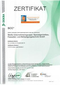 ssc-zertikat-weisse-unternehmensgruppe-2020